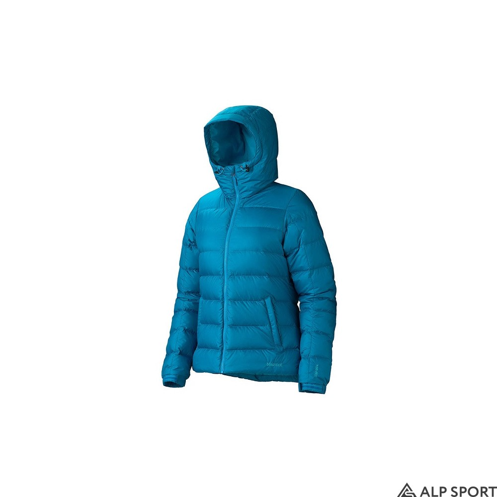 Куртка Marmot Wm's Guides Down Hoody aqua-blue