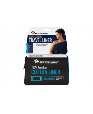 Вкладыш в спальник Sea To Summit Premium Cotton Liner Standard купить