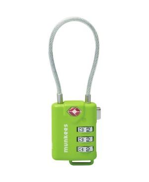 Брелок-замок Munkees 3609 TSA Cable Combi Lock купить