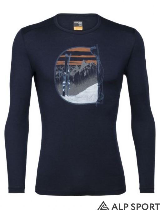 Термокофта Icebreaker 200 Oasis LS Crewe Mt Blanc Rise купити
