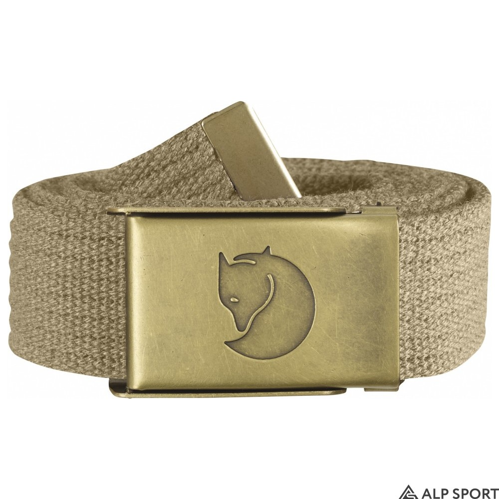 Ремень Canvas Brass Belt 3 cm sand