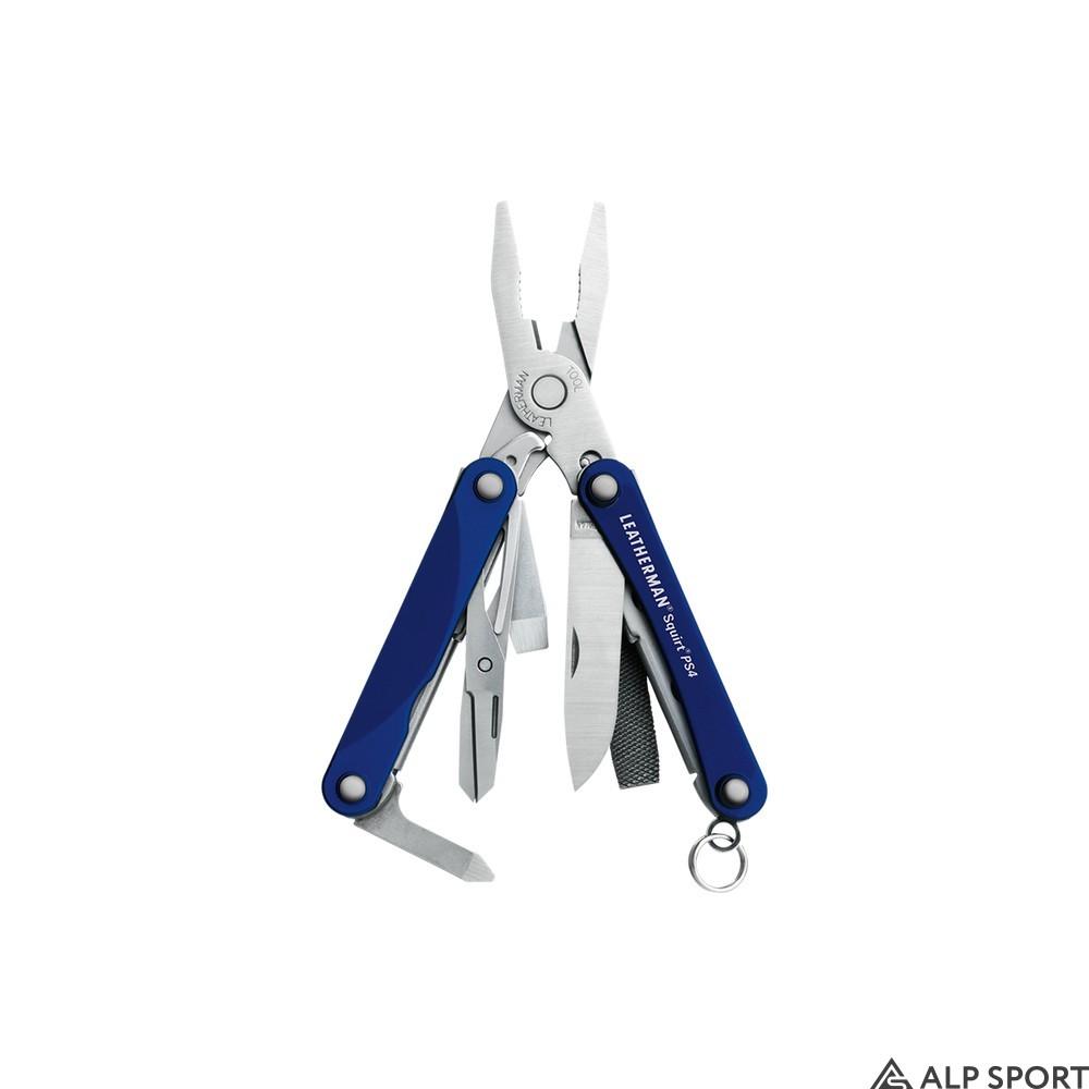 Мультитул Leatherman Squirt PS4 в коробке blue