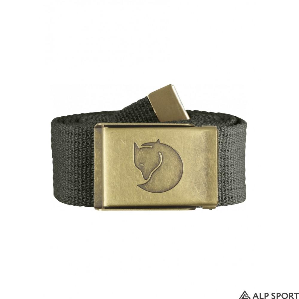 Ремень Fjallraven Canvas Brass Belt 4 cm mountain-grey