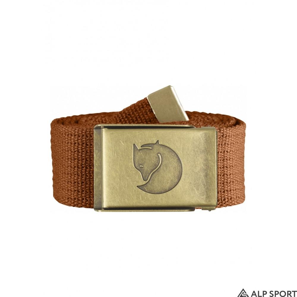 Ремень Fjallraven Canvas Brass Belt 4 cm купить