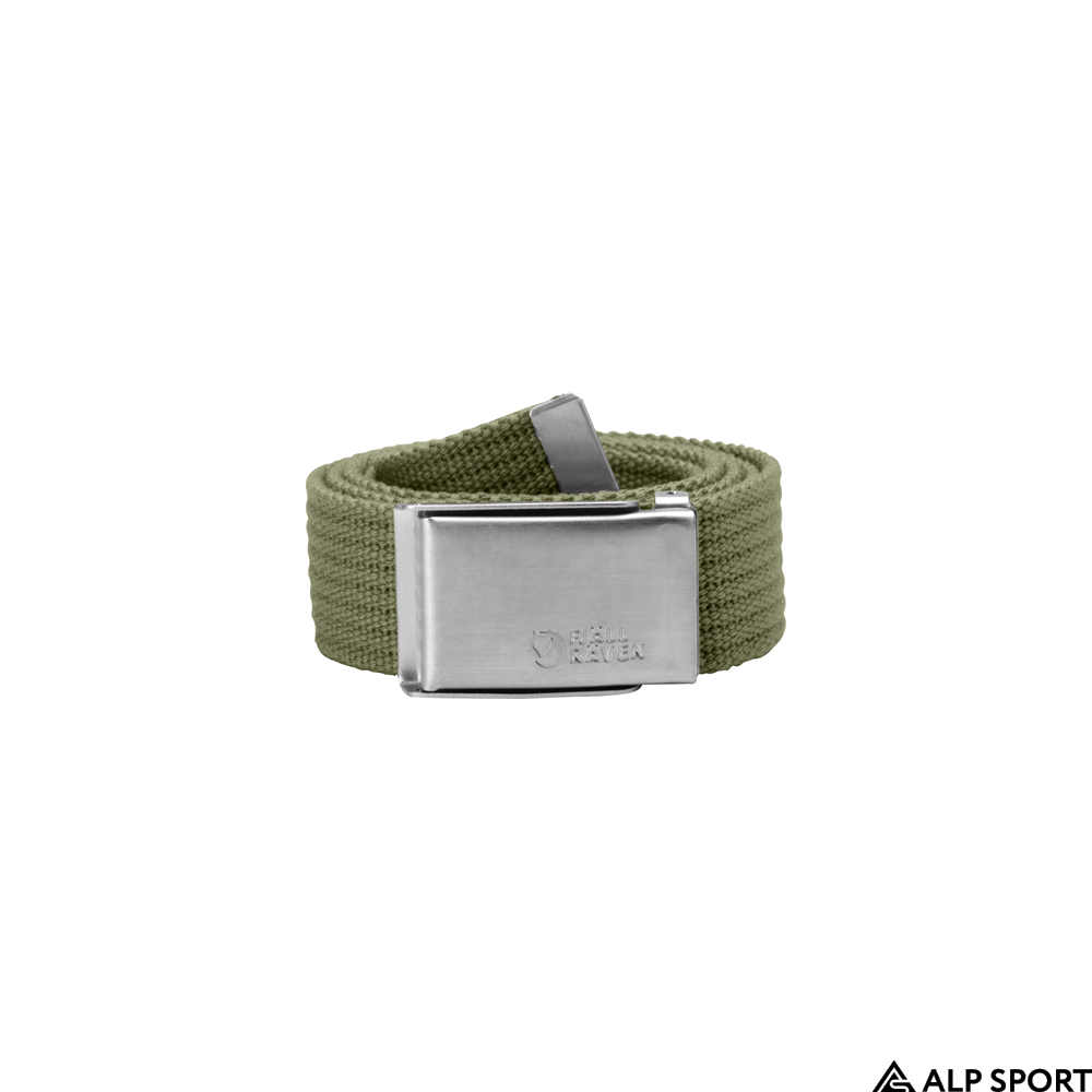 Ремень Fjallraven Merano Canvas Belt green