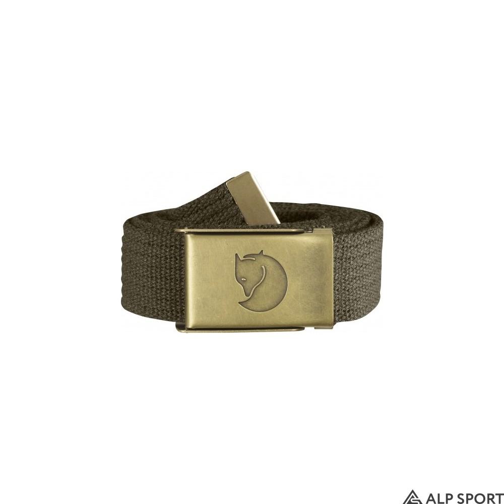 Ремень Canvas Brass Belt 3 cm dark-olive