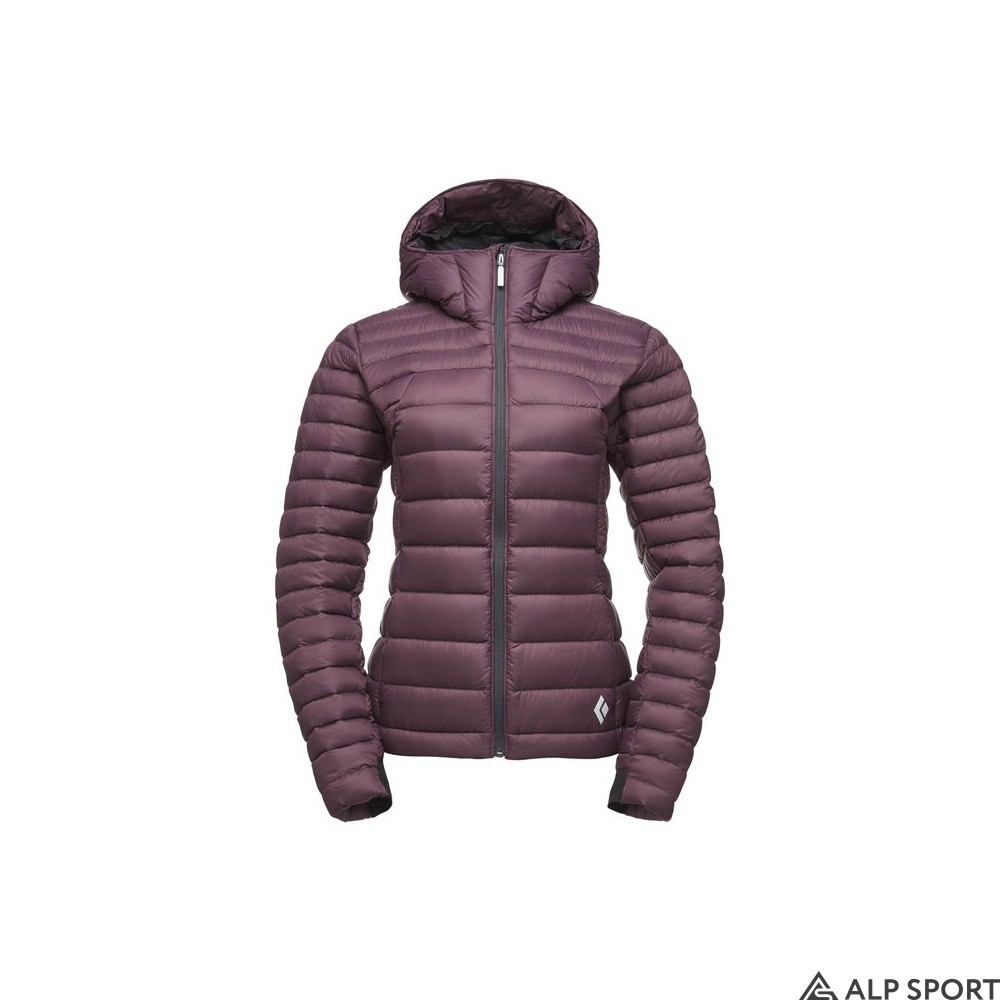 Куртка Black Diamond W Cold Forge Hoody bordeaux