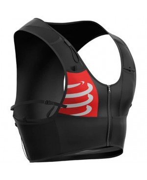 Рюкзак-жилет для бега Compressport Ultrun S Pack Black + Ergoflask купить