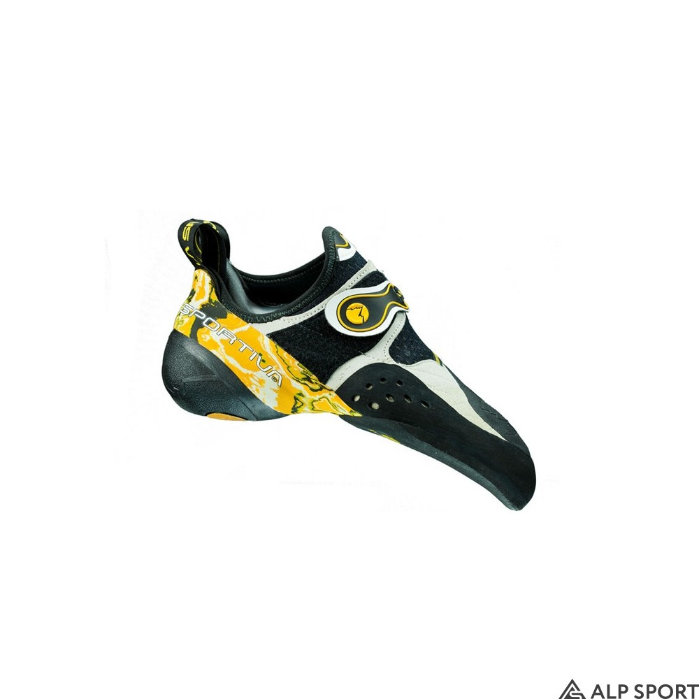 Скальные туфли La Sportiva Solution white-yellow
