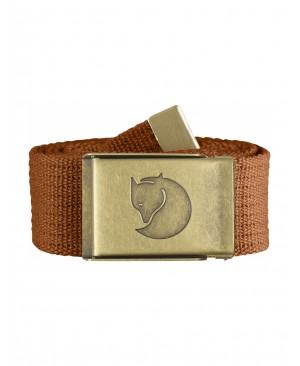 Ремень Fjallraven Canvas Brass Belt 4 cm купить