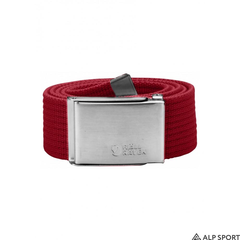 Ремень Fjallraven Canvas Belt deep-red