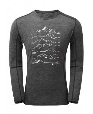 Термофутболка Montane Primino 140G 7 Summits Long Sleeve T-Shirt купить