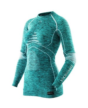 Термокофта X-Bionic Energy Accumulator EVO Woman Melange Shirt Long Sleeves купить